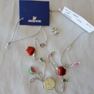 Swarovski crystal necklace NWT